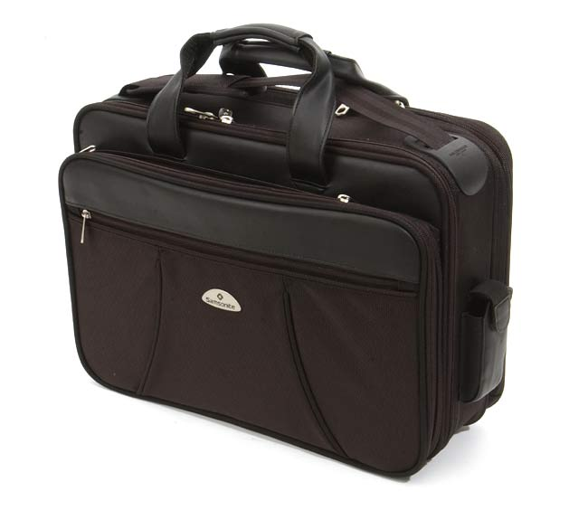 d59903c6a130 Samsonite Briefcase with Smart Strap