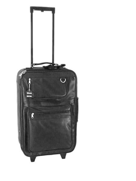 APC Leather 21-inch Wheeled Carry-on Pullman - Free Shipping Today ...