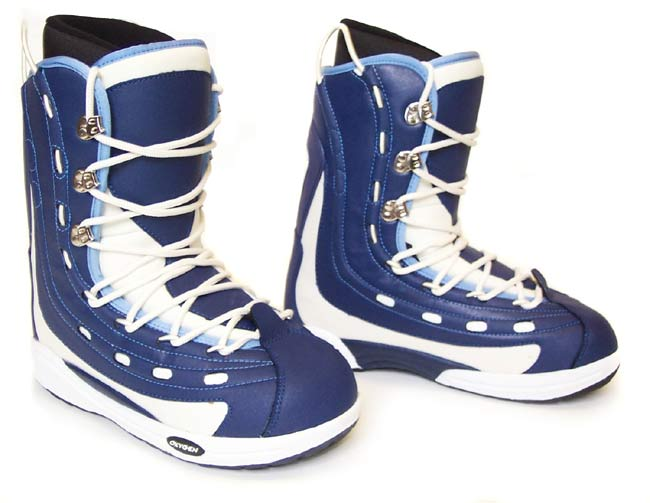 Oxygen Men's System Snowboard Boots - Blue/White