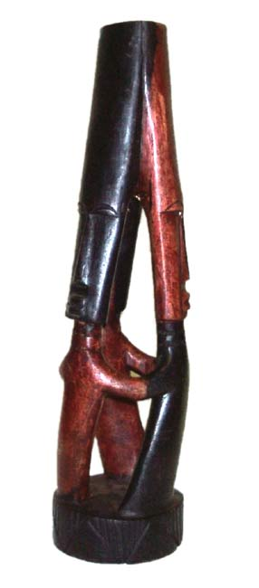 Circle of Friends Figurine (Ghana)