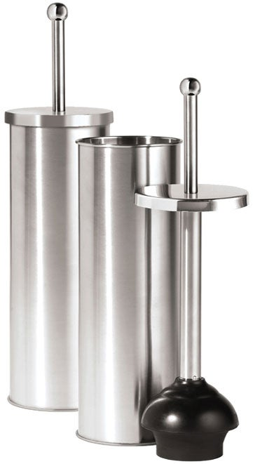 Housewerks Stainless Steel Toilet Plunger