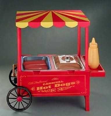 shop old fashioned hot dog maker by nostalgia electrics free shipping on orders over 45. Black Bedroom Furniture Sets. Home Design Ideas