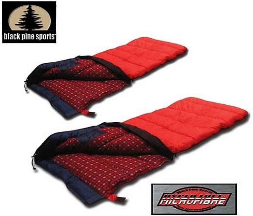 Black Pine Sahara Sleeping Bag +32 Degree (Set of 2)