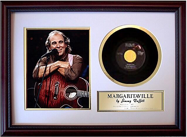 Framed Records Jimmy Buffett - Margaritaville