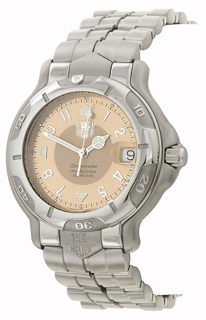 Tag Heuer 6000 Men's Copper Dial Steel Automatic Watch