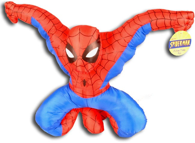 Spiderman Pillow Time Pal