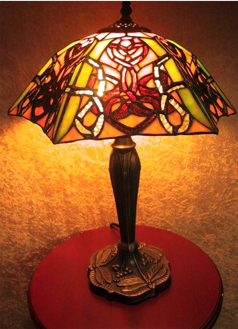 Shop tiffany style gothic lamp ships to canada overstock 846920 tiffany style gothic lamp aloadofball Image collections