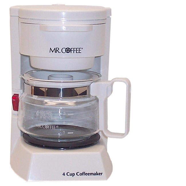 Mr. Coffee 4-cup Coffee Maker - Free Shipping On Orders Over $45 ...