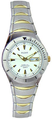 Pulsar by Seiko Men's Kinetic 100M Two-tone Watch