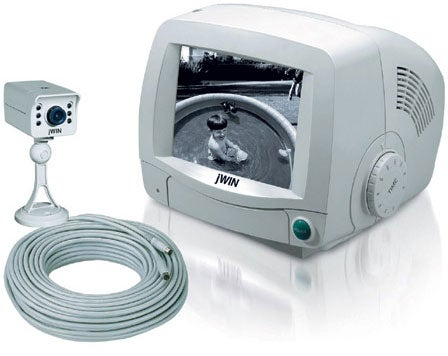 JWIN JV-TV2040 5.5-inch Security Monitor with Camera