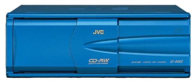 JVC CH-X1100 12-Disc CD Changer for Car