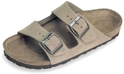 6dae99ba12aa Shop Betula Boogie Taupe Suede 2-strap Sandals - Free Shipping Today -  Overstock - 847589