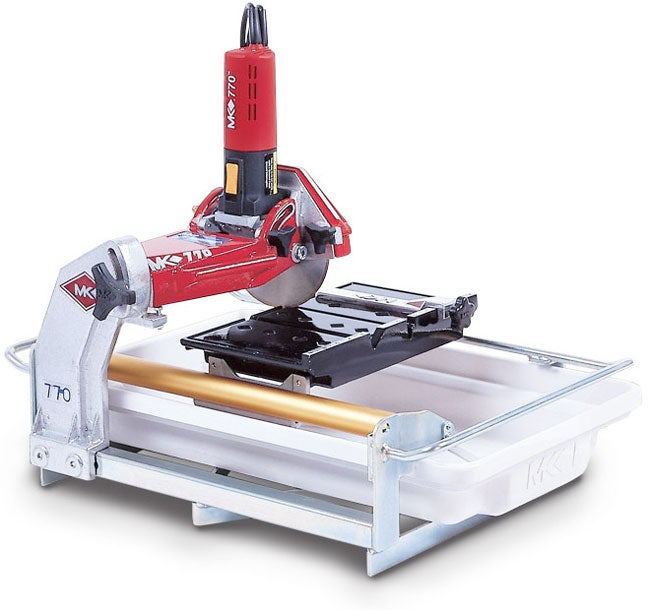 Mkdiamond Mk 770 Tile Saw W Two Blades Tile Turbo Free Shipping Today Overstock Com 955202