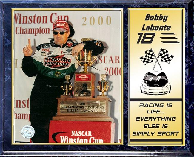 Bobby Labonte 12 x 15 Plaque