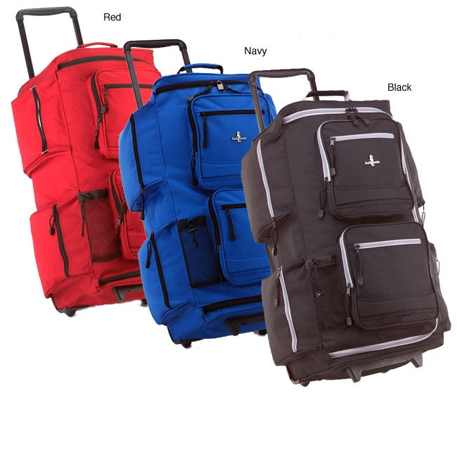 Atlantic 6-pocket Rolling Duffel Bag