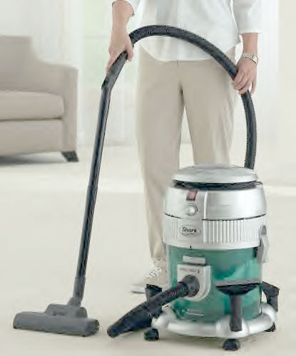 Euro Pro Shark Bagless Water Filtration Vacuum (Refurbished)