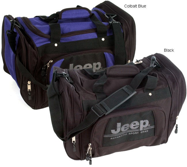 Shop Jeep Authentic Series 20 inch Duffel Bag - Free Shipping On Orders  Over  45 - Overstock - 1108200 7c3492811871d