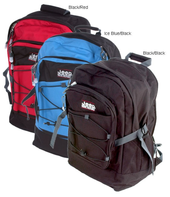 e64ec8d3aa Shop Jeep Expandable Backpack ( 2 pack ) - Free Shipping On Orders Over $45  - Overstock - 857518