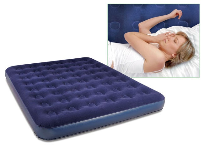 Deluxe Inflatable Queen-size Bed with Air Pump