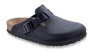 black birkenstock clogs