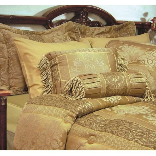 Monaco Jacquard 4-piece Comforter Set