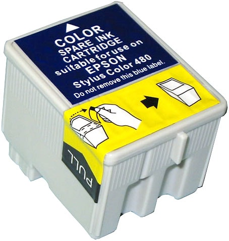 Epson Compatible TO14201 Color Ink Cartridge (Pack of 6)
