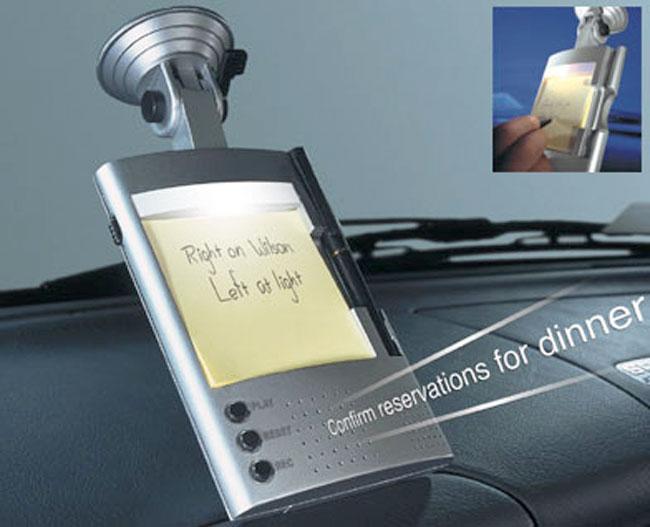 Auto Voice Recorder/Note Pad