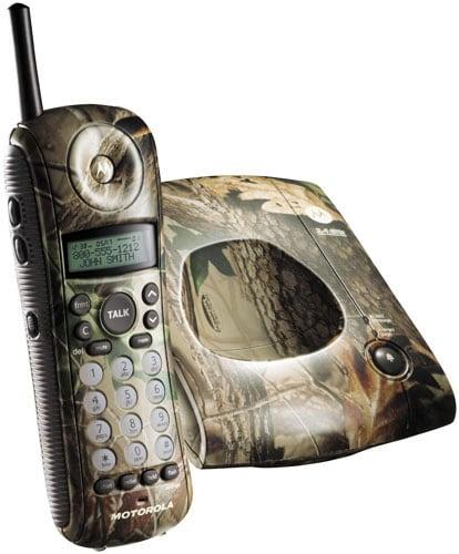 Motorola MA357 2.4GHz Camo Phone with Animal Ringers
