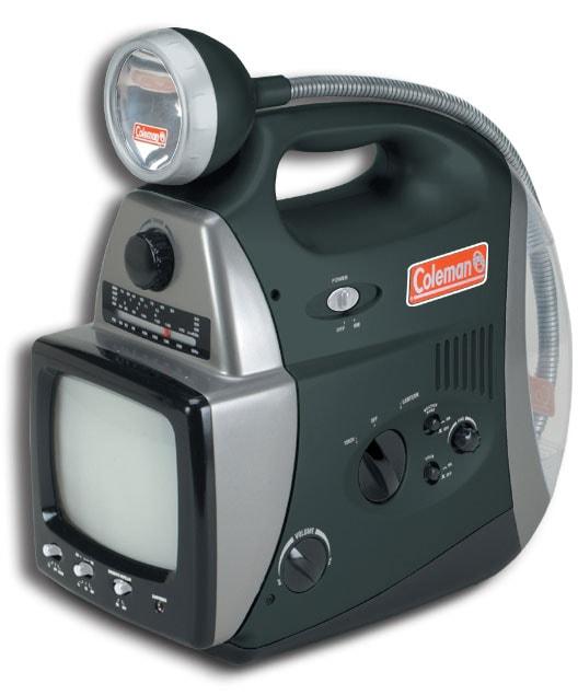 Coleman King Cobra TV Lantern with Radio