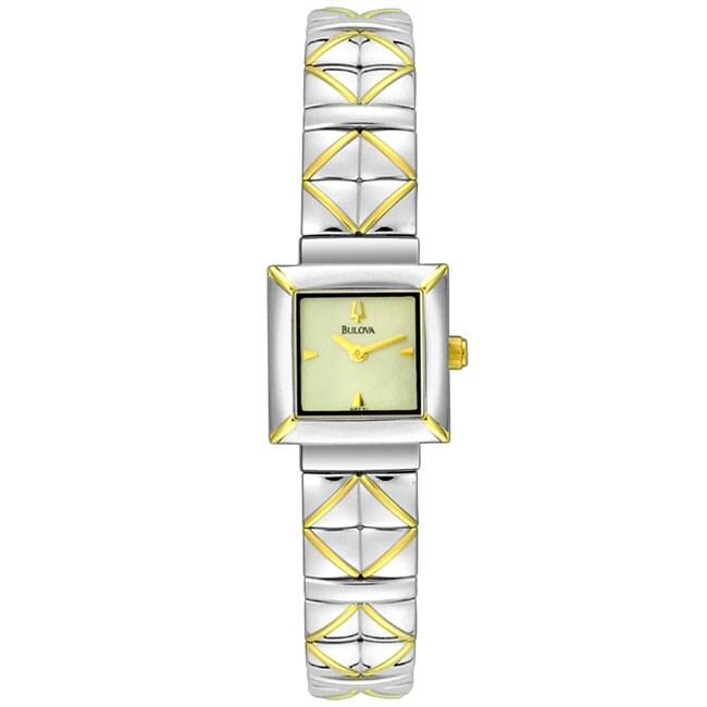 Bulova Ladies Two Tone Watch