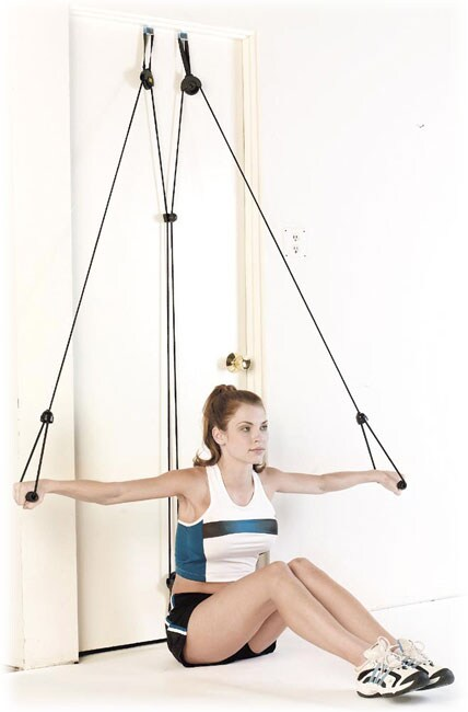 Everlast Pilates Door Gym with Adjustable Tension - Free Shipping On ...