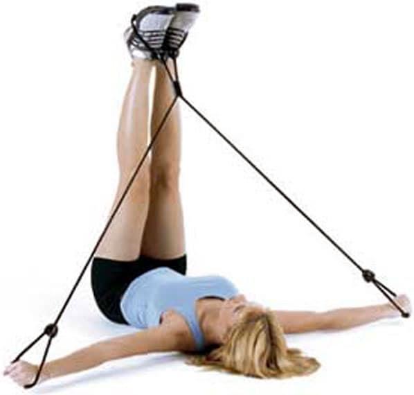 Bally Total Fitness Pilates 4-way Ab Stretch
