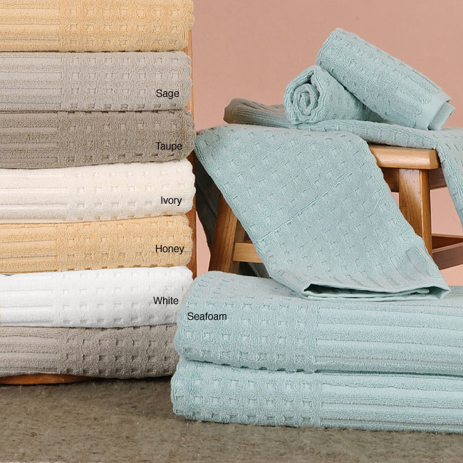 Spa Bath Egyptian Cotton Towels (Set of 6 - Sage Green)