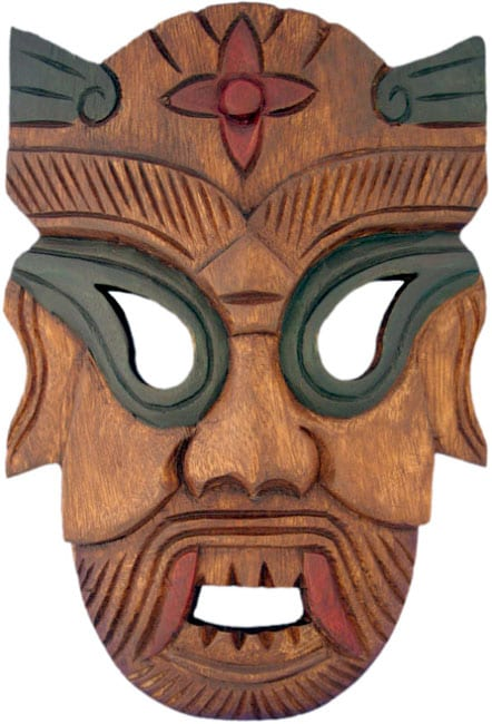 Warrior Tribal Mask Wall Hanging Free Shipping On Orders