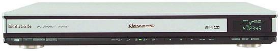 Panasonic DVDF65 Super Slim 5-disc DVD Player
