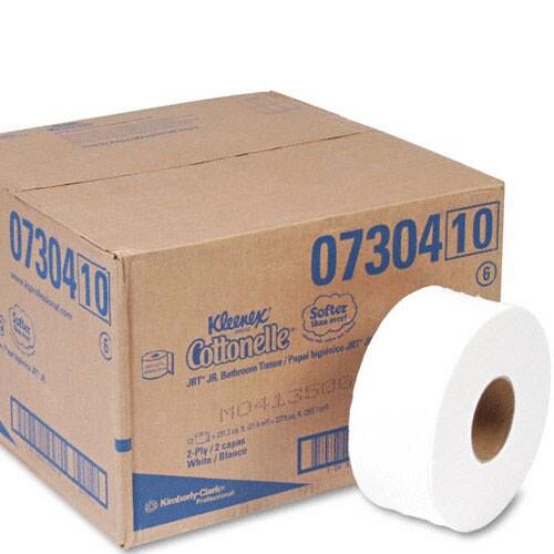 Shop Kleenex Cottonelle 1 Ply Jr Jumbo Toilet Paper Case
