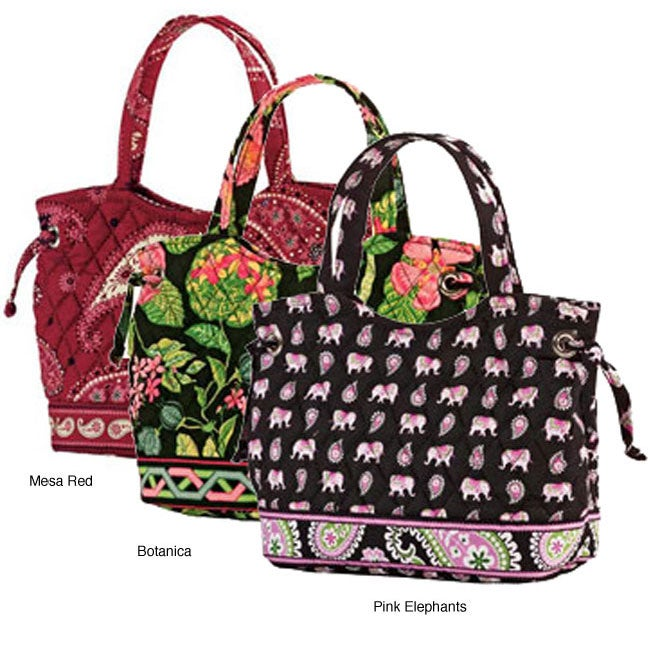 83746e9773b28 Shop Vera Bradley Women s Sherry Handbag - Free Shipping On Orders Over  45  - Overstock - 3356932