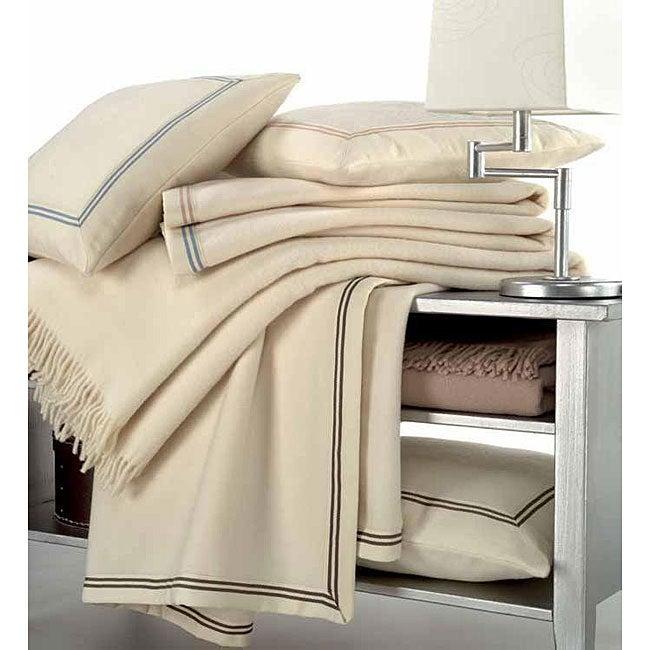 Lambswool Yacht Blanket
