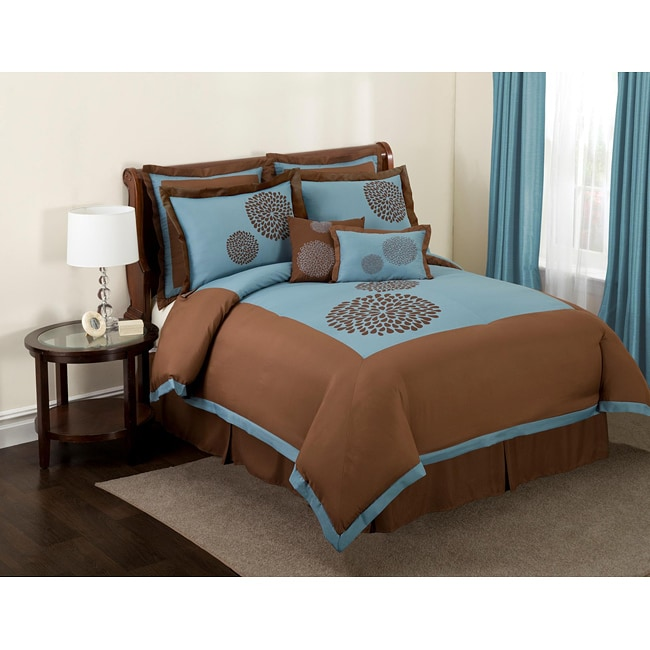 Lush Decor 'Sandra' 8-Piece Comforter Set