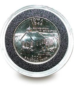 U.S. Mint State Quarter Series Knife/ Coin Set (Iowa) - Thumbnail 1