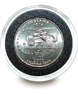 U.S. Mint State Quarter Series Knife/ Coin Set (Indiana) - Thumbnail 1