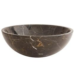 Fontaine Black Marble Bathroom Vessel Sink