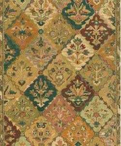 Hand-tufted Baktarri Red/ Multi Wool Rug (5' x 8') - Thumbnail 1
