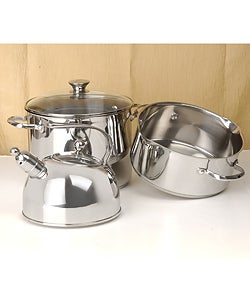 Thumbnail 2, Wolfgang Puck Bistro Collection 31-piece Cookware Set. Changes active main hero.