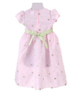 feafbe5102c6 ... Rosettes Dress; Thumbnail Chantilly Place Girls' Pink Lace  Rosettes ...