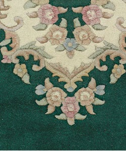 Shop Hand Knotted Aubusson Wool Rug 3 X 5 Oval Free
