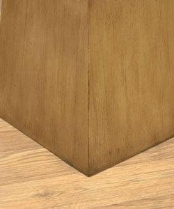 Wooden Pedestal Table - Thumbnail 1