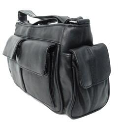 Adi Designs Genuine Leather 2 Pocket Fashion Purse
