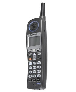 Panasonic KX-FG6550 Two-line 5.8GHz Cordless Phone/Fax/Copier (Refurbished)