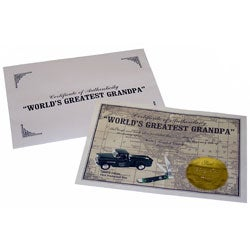 Collectible World's Greatest GrandpaTruck and Knife Gift Set - Thumbnail 1